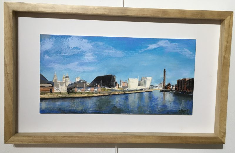 'Canning Docks' Liverpool by Nick Moore